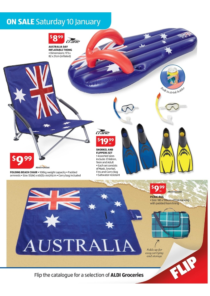 Aldi Picnic Basket Australia : Aldi back to school catalogue january page