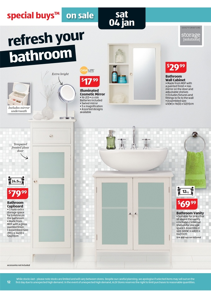 special buys week 1 sohl bathroom cupboard sohl bathroom wall cabinet