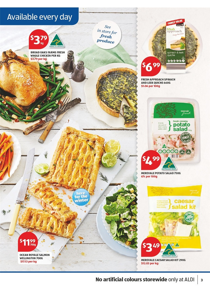 ALDI Catalogue April 2014 Offers of Food Products Page 27