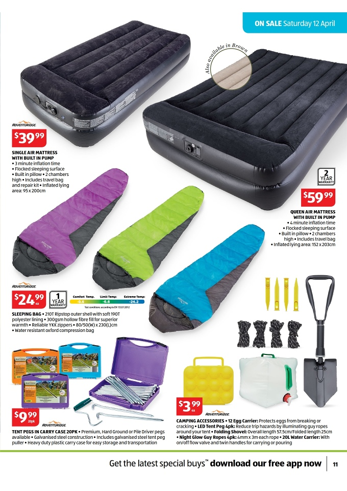 Aldi Catalogue April Special Buys Page 11