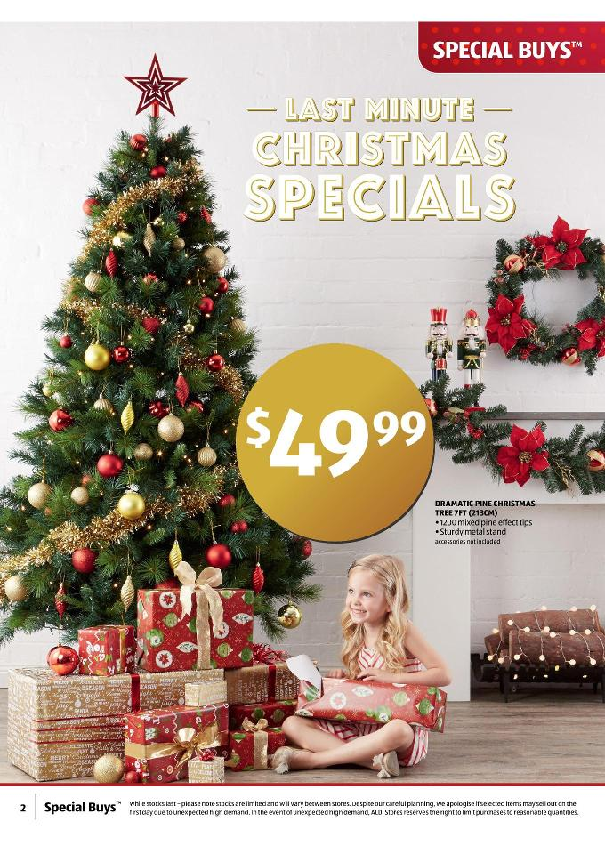 Christmas Decorations At Aldi : Aldi catalogue christmas gifts december page