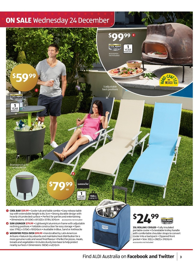 aldi catalogue clearance products page 3. Black Bedroom Furniture Sets. Home Design Ideas