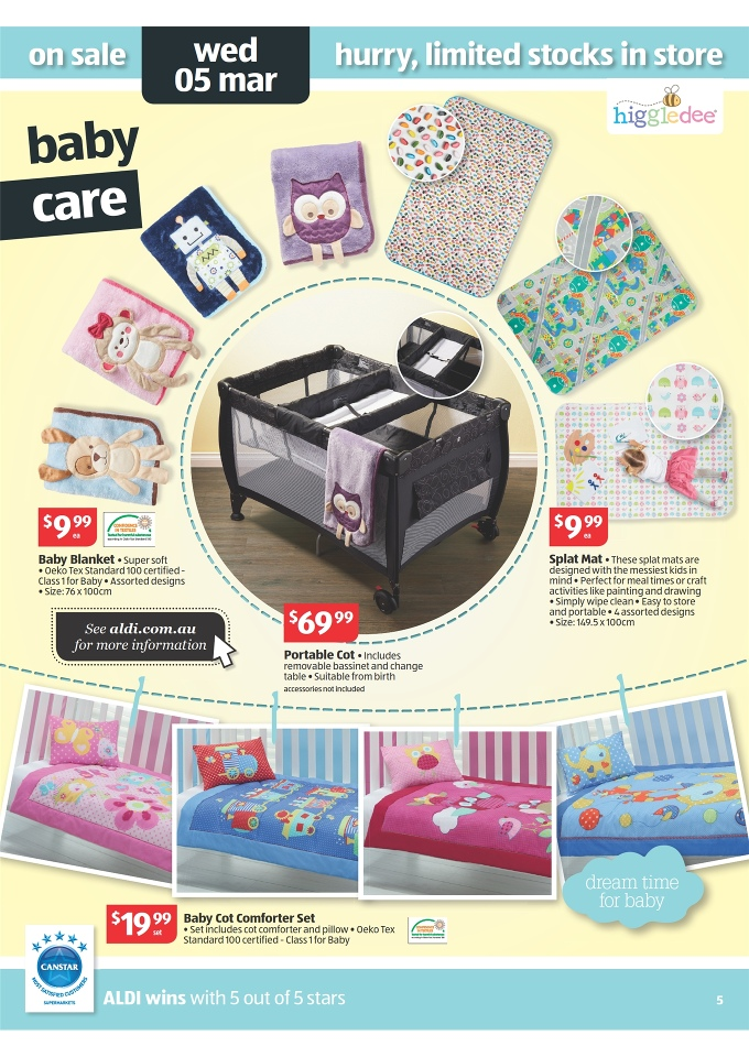 Aldi Catalogue Deals Home Sale And Winter Clothes Page 5