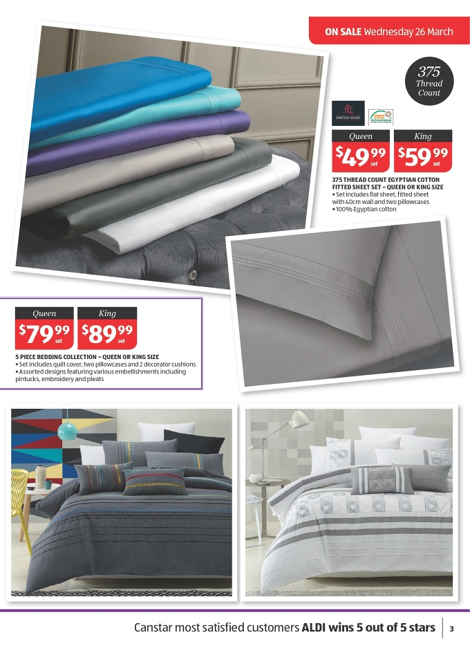 ALDI Catalogue Discounts On General Home Sale Page 3