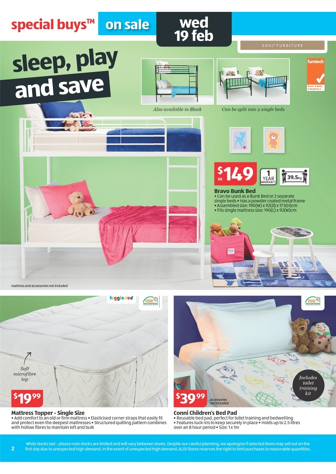 aldi catalogue easter offers 2014 page 2. Black Bedroom Furniture Sets. Home Design Ideas