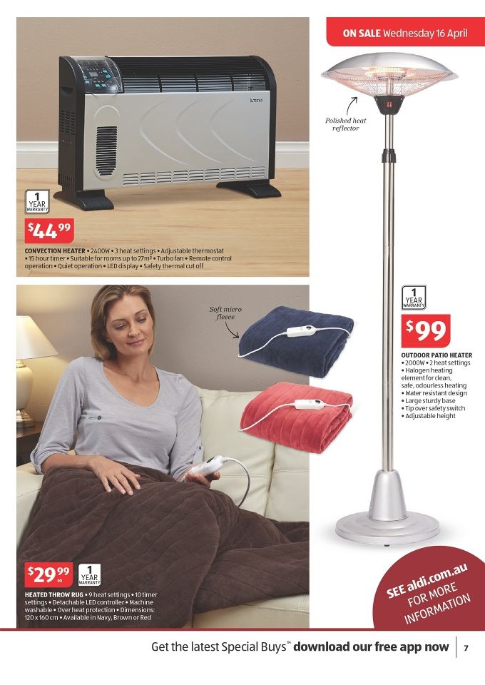 Aldi Catalogue Easter Prices Of Products Page 7