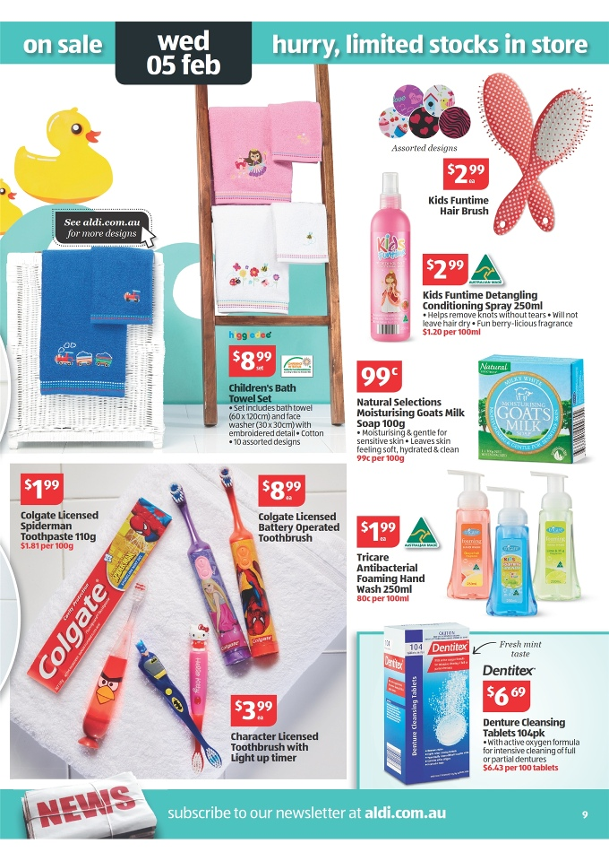 aldi catalogue february deals 2014 page 9
