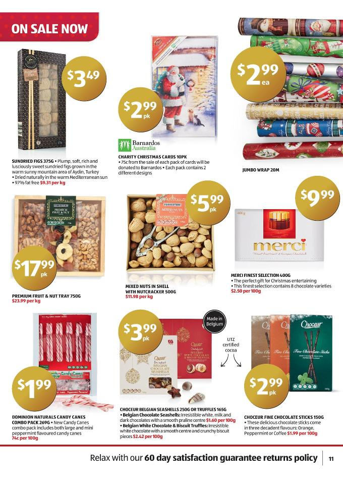 Aldi Catalogue Gifts December 2014 Page 11