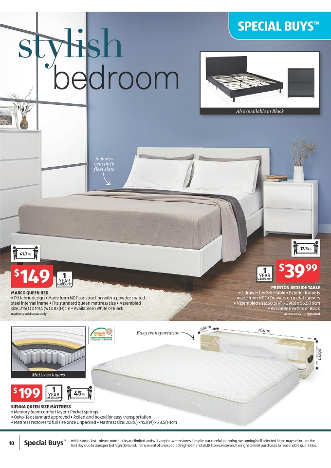 Aldi Bedroom Furniture 28 Images Aldi Catalogue Special Buys Week 28 2016 Aldi Bedroom