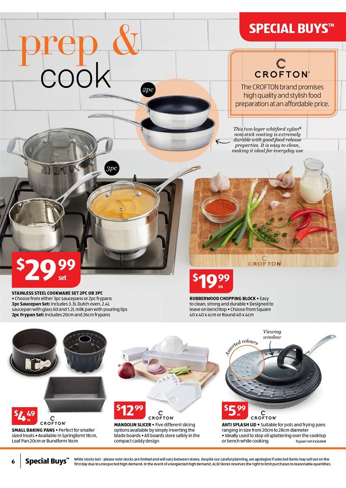 Aldi Catalogue Home Supplies October Page 6
