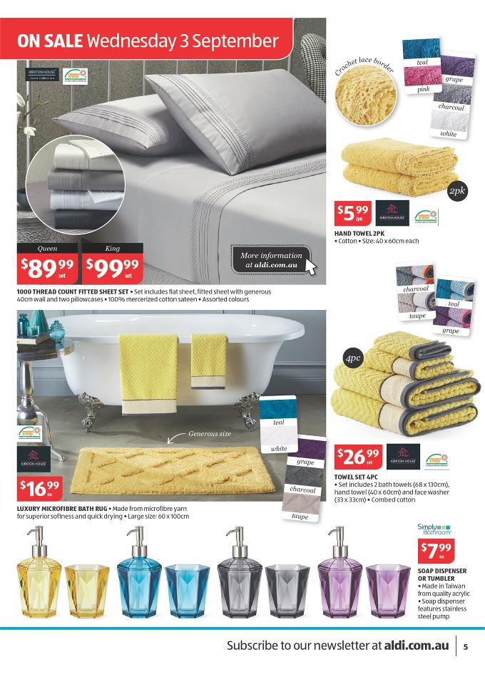 Aldi Catalogue Living Room Furniture September 2014 Page 5