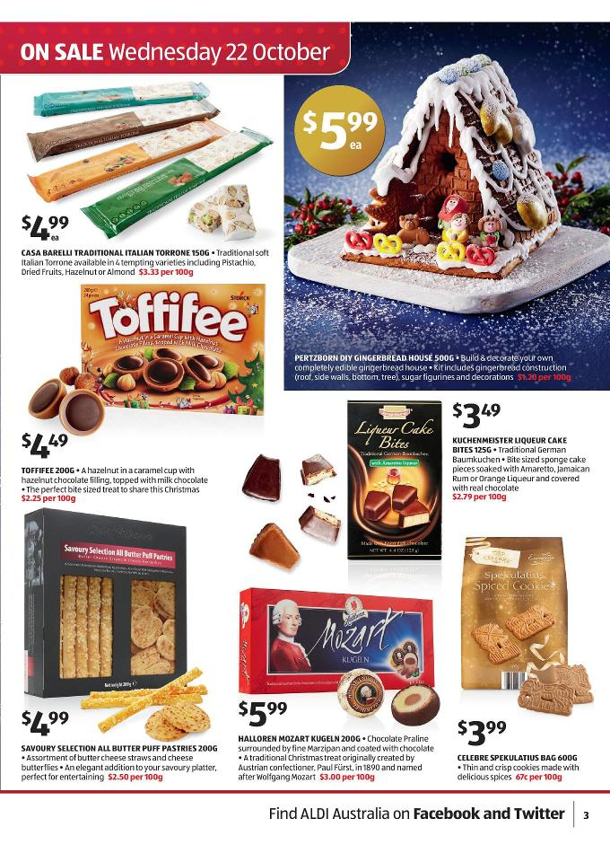 Aldi Catalogue October Christmas Offers Page 3
