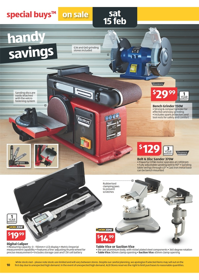 aldi offers this week tools