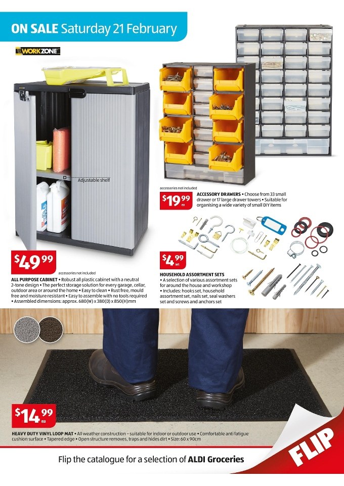 aldi catalogue special buys week 8 2015 page 17. Black Bedroom Furniture Sets. Home Design Ideas