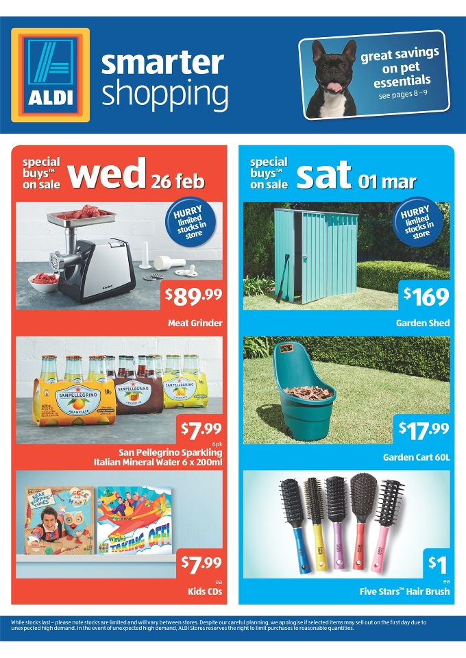 aldi catalogue special buys week 9. Black Bedroom Furniture Sets. Home Design Ideas