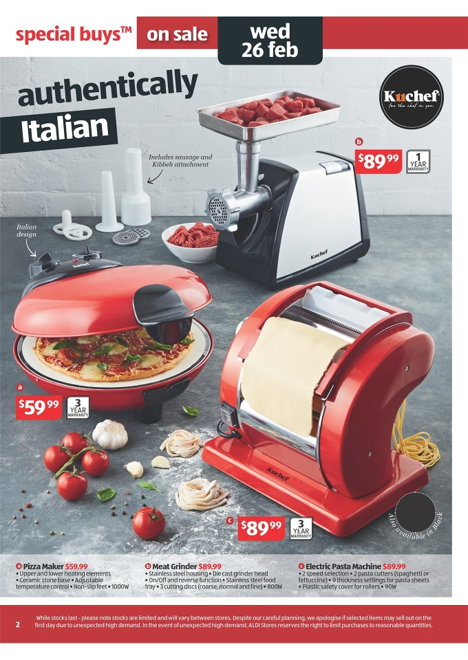 Aldi Catalogue Special Buys Week 9 Page 2