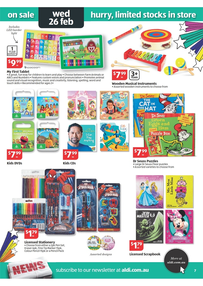 Aldi Catalogue Special Buys Week 9 Page 7