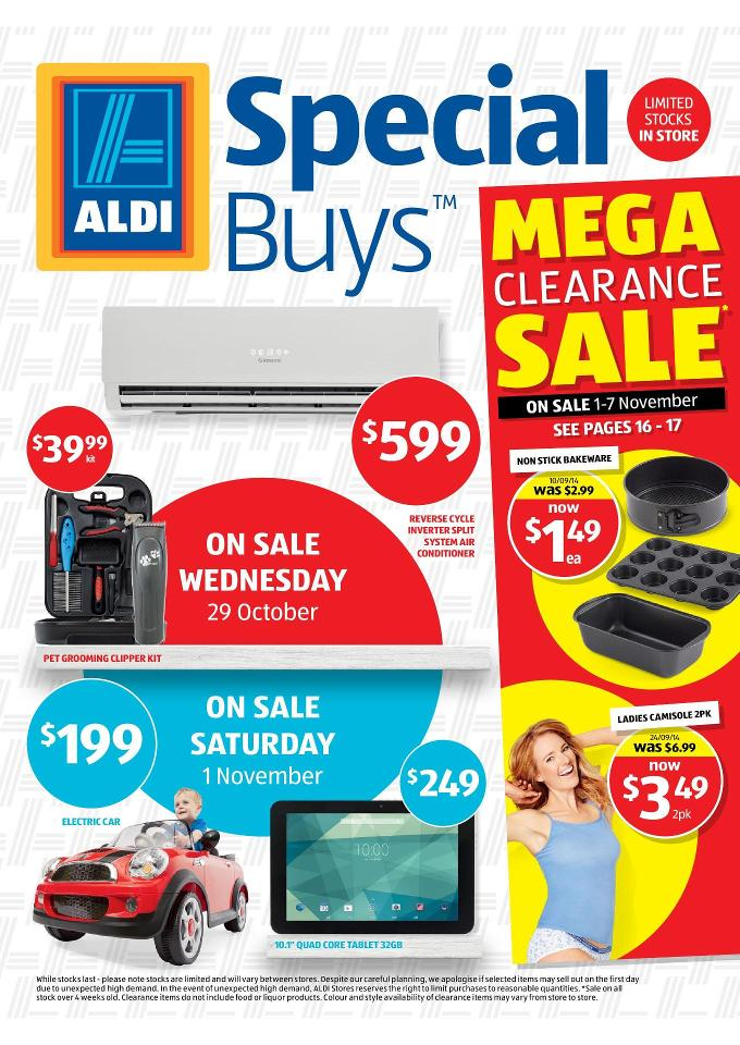 Aldi Catalogue Special Deals Christmas And Summer