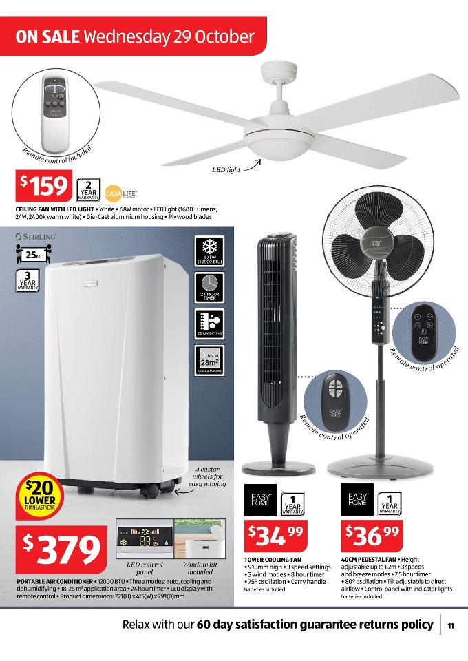 Aldi Catalogue Special Deals Christmas And Summer Page 11