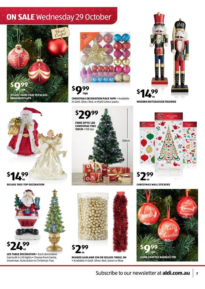 Aldi catalogue special deals christmas and summer page 7 for Catalogue deco