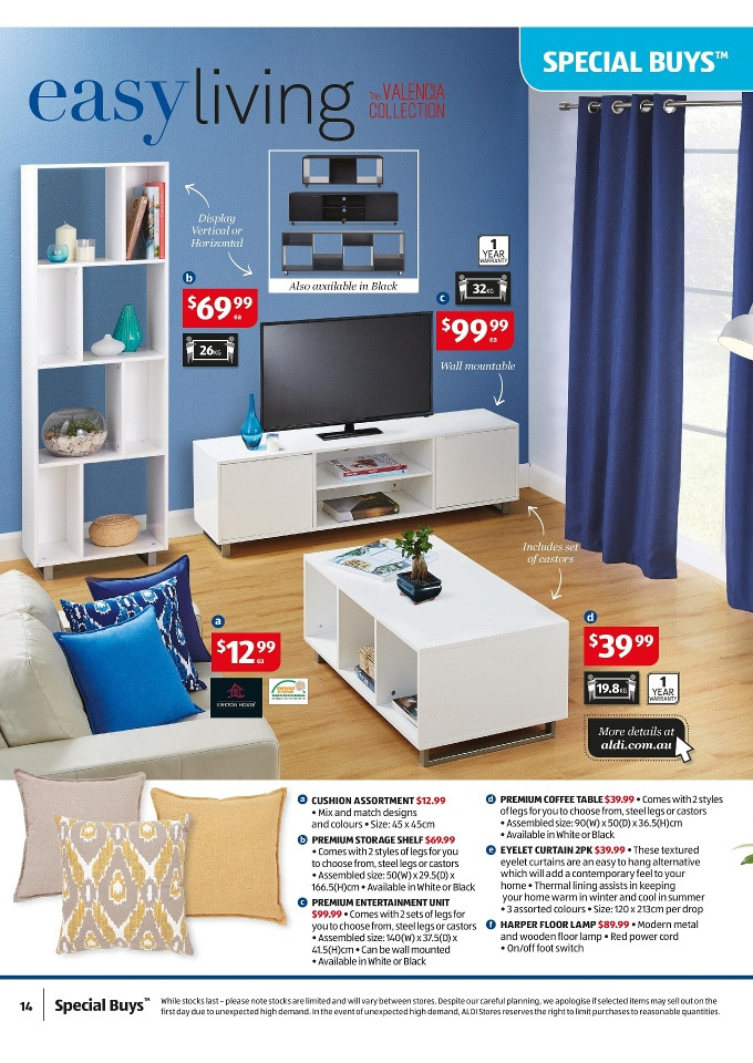Aldi Catalogue Special January Home Sale 2015 Page 14
