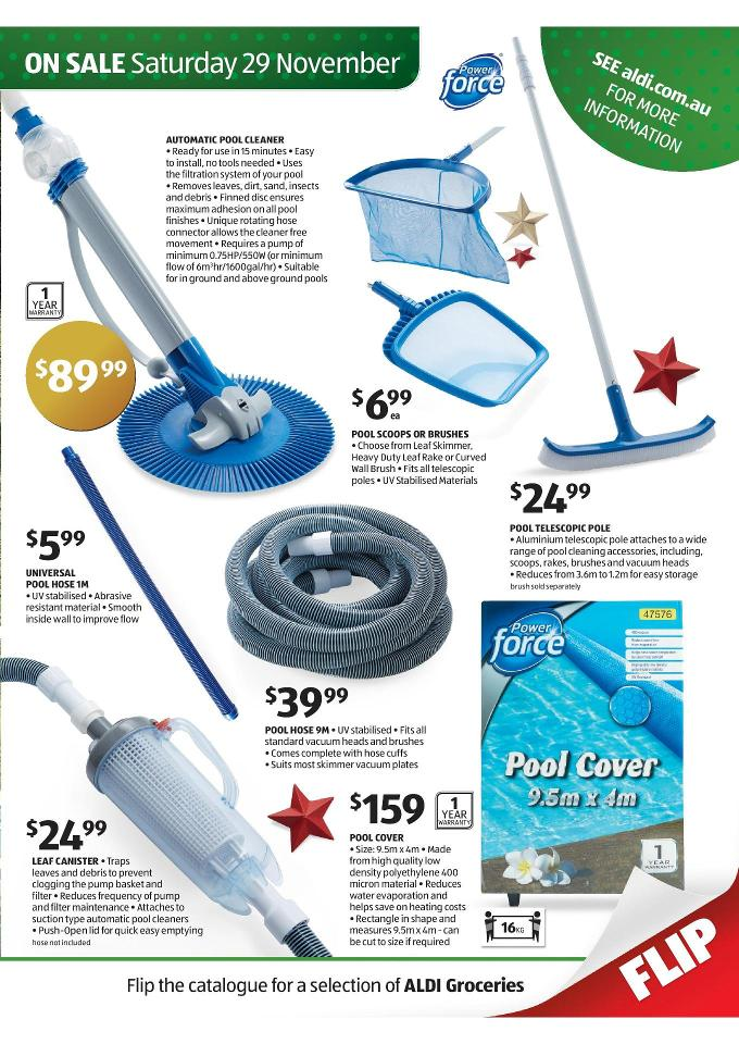 Aldi christmas special deals november 2014 page 15 for Automatic pool cleaner reviews 2014