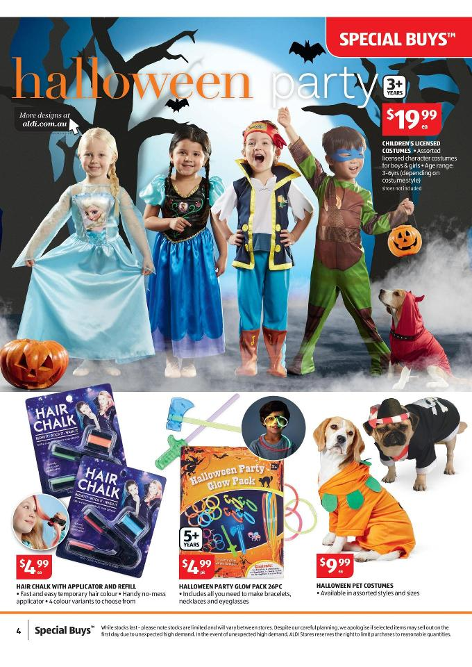 Aldi Halloween Party Supplies October Page 4