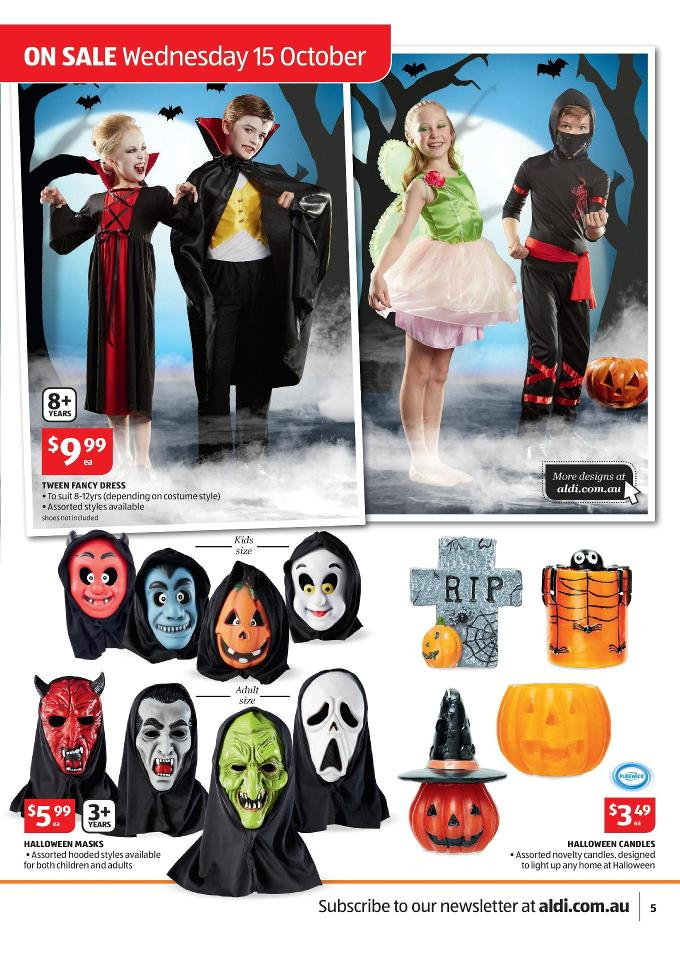 Aldi Halloween Party Supplies October Page 5