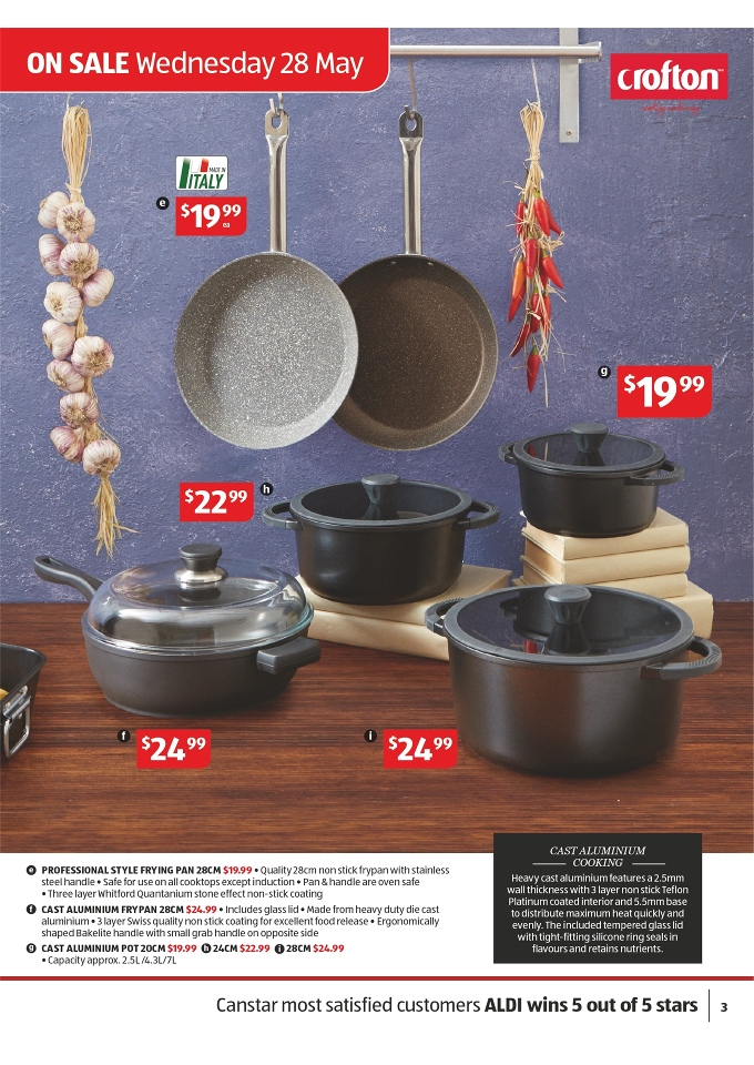 Aldi Home Sale Catalogue Special Buys Page 3