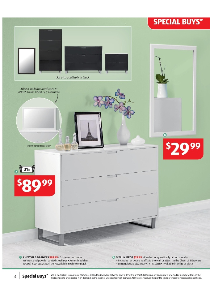 Aldi bedroom furniture bedroom review design for Affordable furniture catalogue