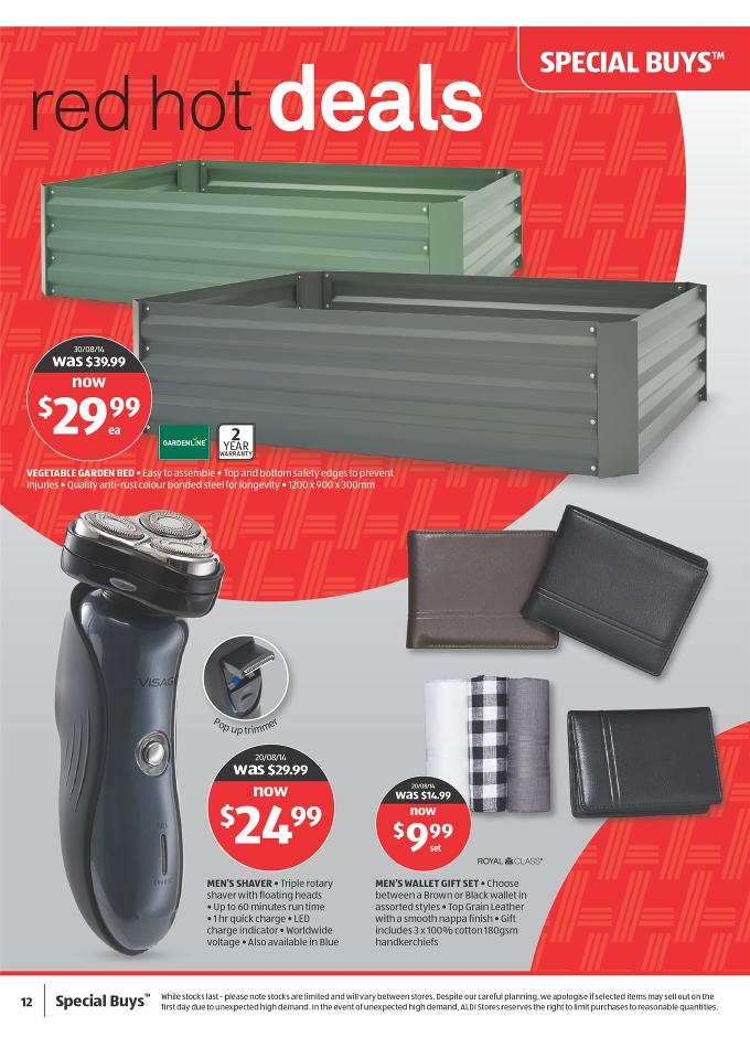 Aldi Special Buys Outdoor And Christmas Products Page 12