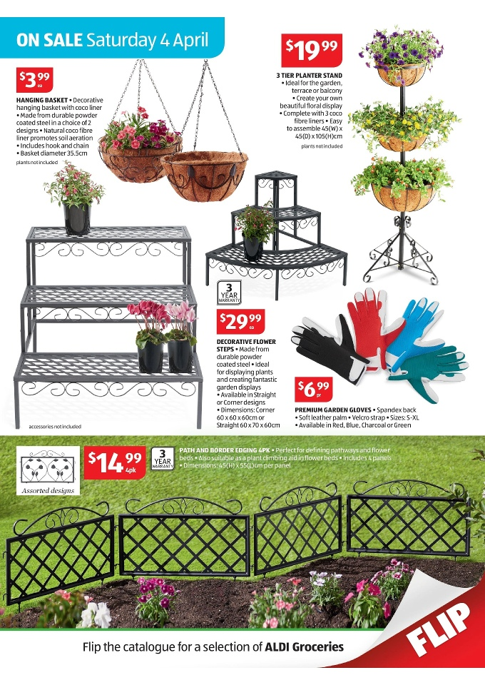 Aldi flowers plants flower shop near me for Aldi gardening tools 2016