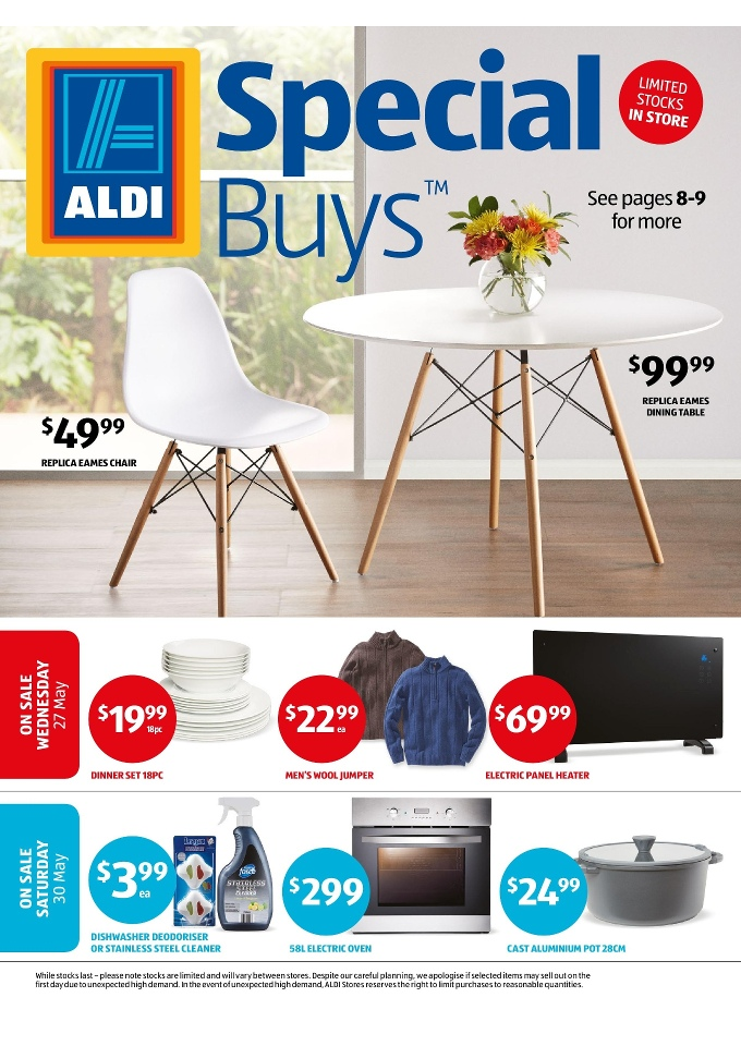Aldi Special Buys Week 22 Home Sale May 2015