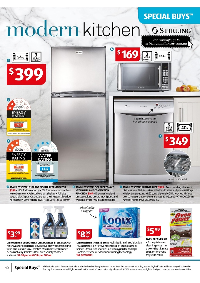 Aldi Special Buys Week 22 Home Sale May 2015 Page 10