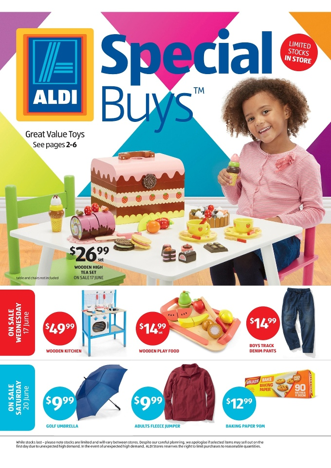 Aldi Special Buys Week 25 Toy Sale And Clothing 2015