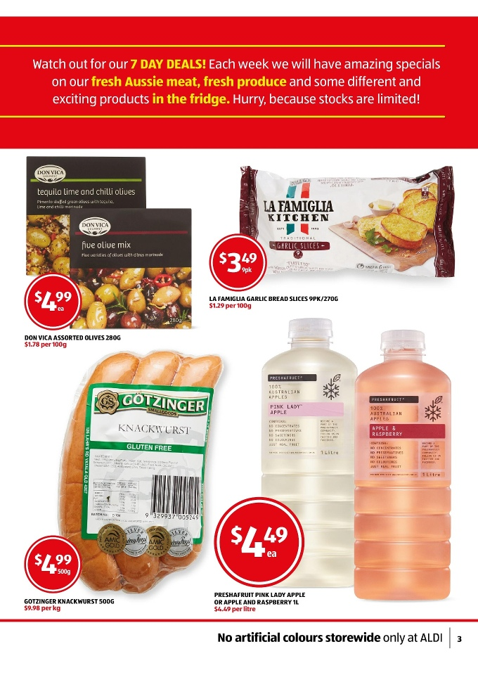 ALDI Special Buys Week 25 Toy Sale and Clothing 2015 la famiglia