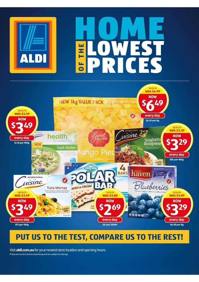 Aldi special buys week 25 toy sale and clothing 2015 page 22 for Aldi international cuisine