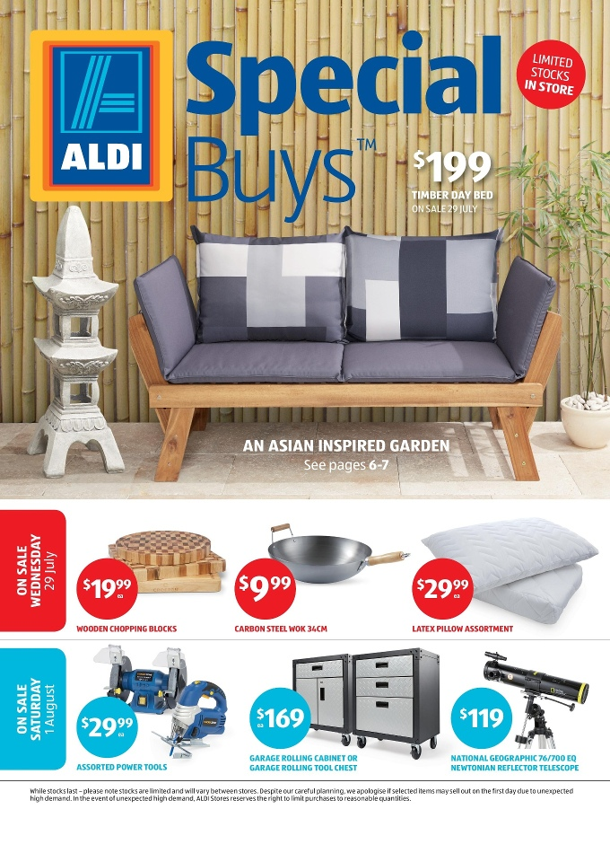 Aldi Special Buys Week 31 Home Sale 2015