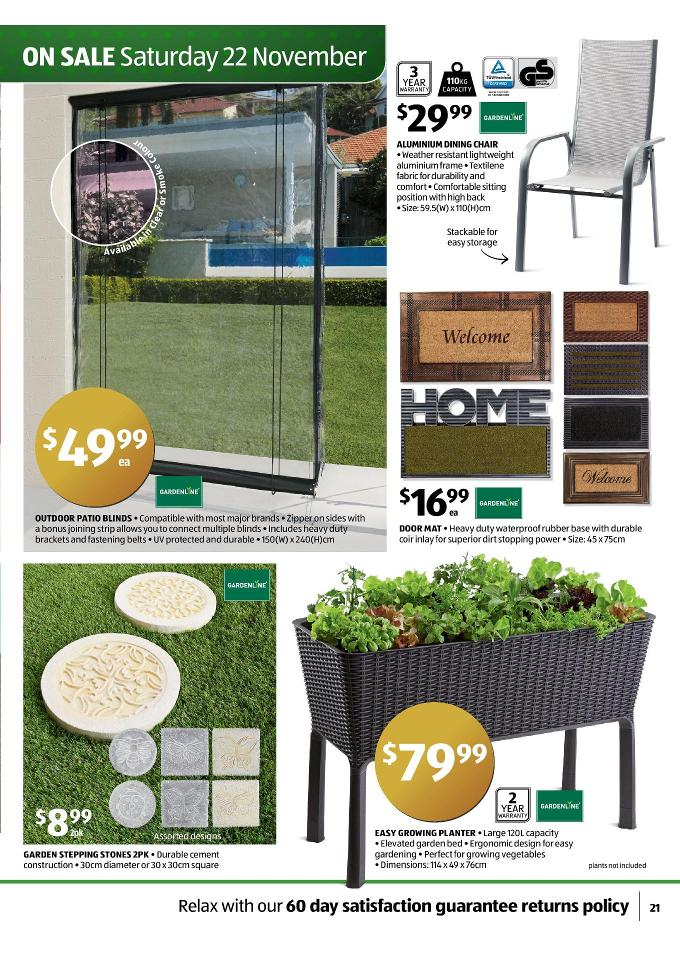 Aldi Special Christmas Gifts Buys Page 21