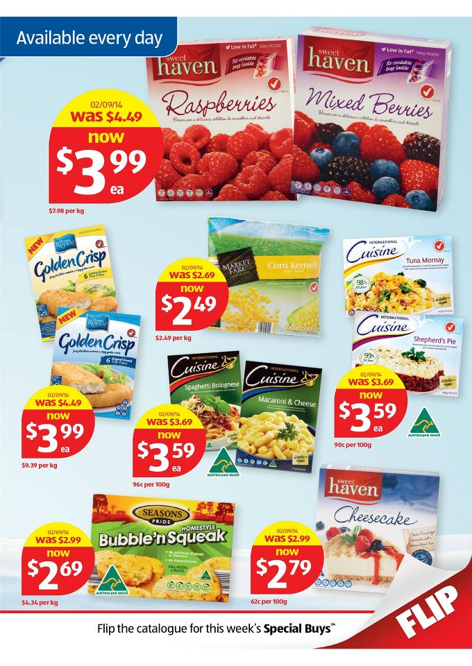 Aldi special work out offers catalogue september page 19 for Aldi international cuisine