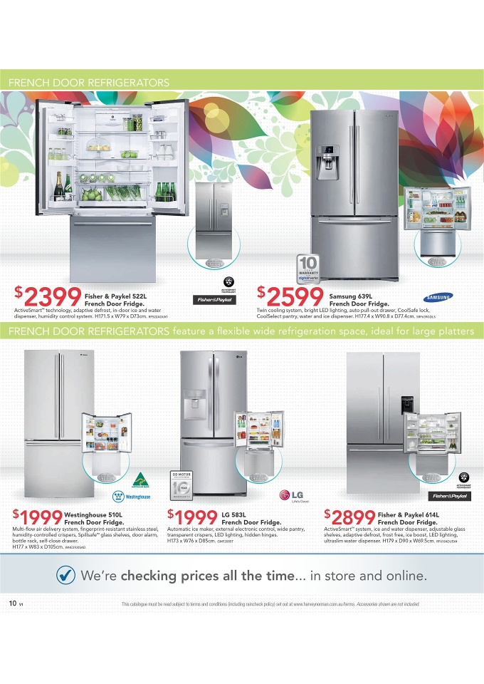 Harvey Norman Home Appliances And September Catalogue Page 10