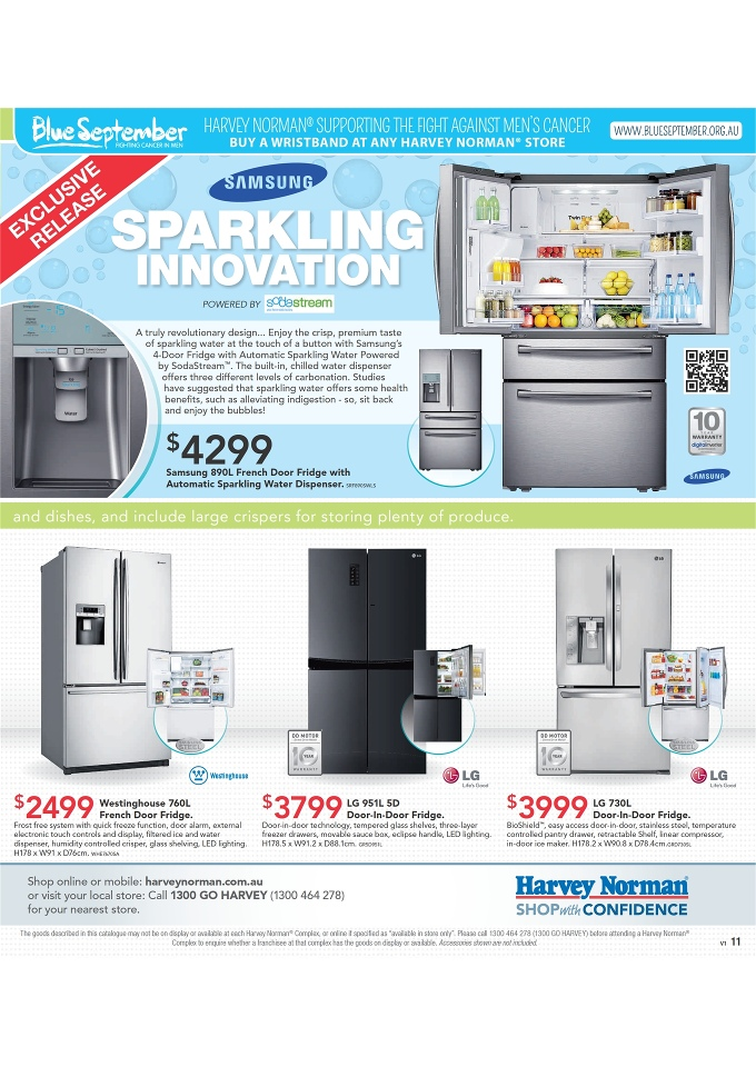Harvey Norman Home Appliances And September Catalogue Page 11