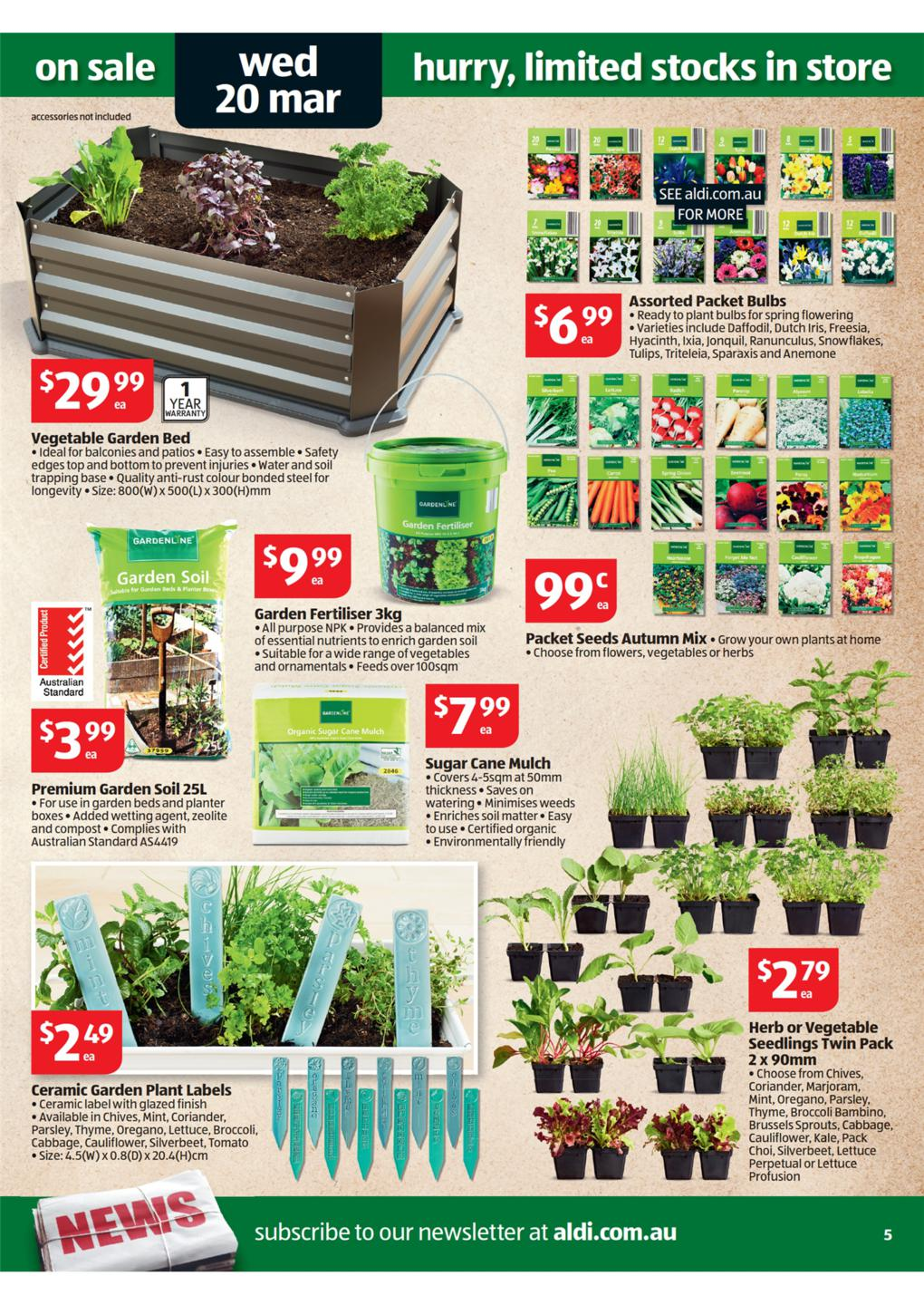 aldi catalogue - special buys week 12 2013 page 5