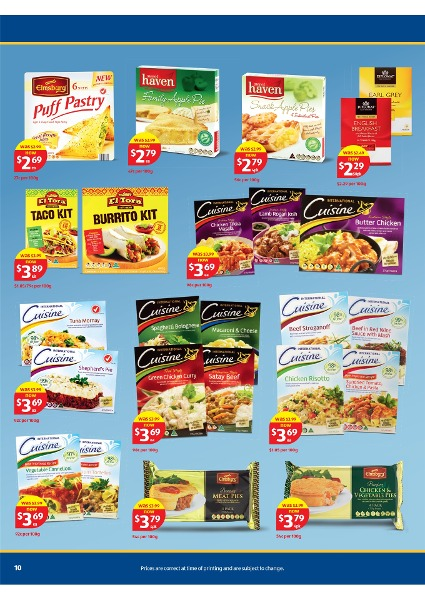 Aldi catalogue special buys week 15 2013 page 10 for Aldi international cuisine