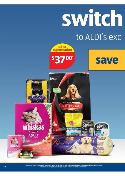ALDI Catalogue - Special Buys Week 17 2013 , dog or cat food