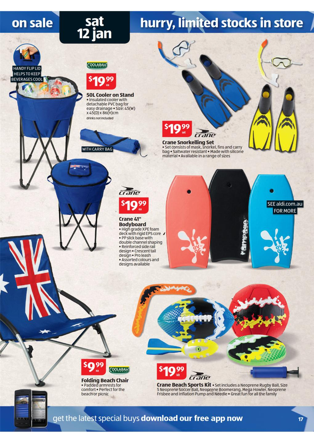 Aldi Picnic Basket Australia : Aldi catalogue special buys wk january page