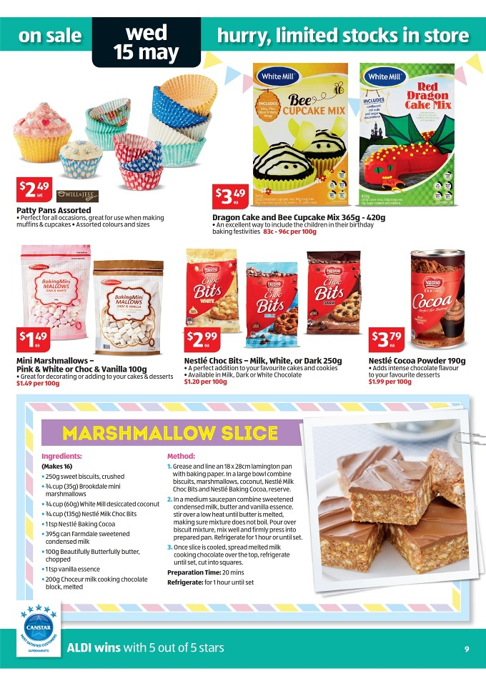 Aldi Catalogue Special Buys Week 20 2013 Page 9
