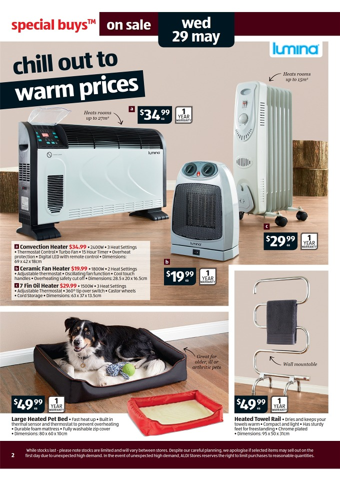 aldi catalogue special buys week 22 2013 page 2. Black Bedroom Furniture Sets. Home Design Ideas
