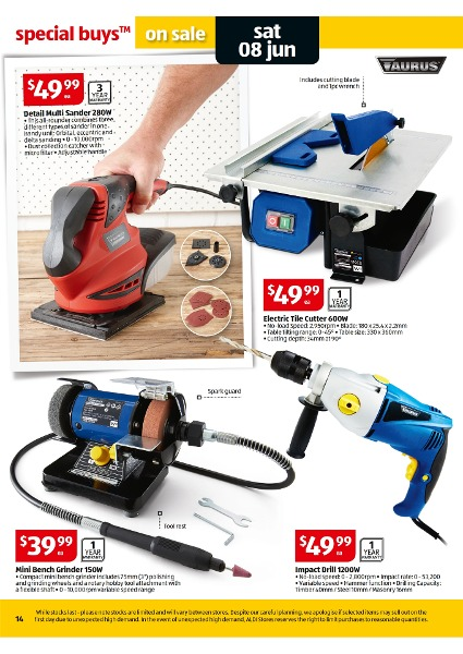 Aldi Catalogue Special Buys Week 23 2013 Page 14