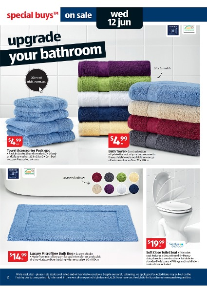 Aldi Catalogue Special Buys Week 24 2013 Page 2